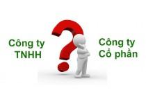 Chuyển TNHH 1TV - Cty Cổ Phần
