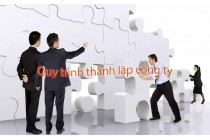 Quy Trình thành lập công ty